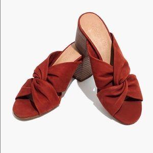 Madewell Twisted Criss Cross Sandals NWB 7